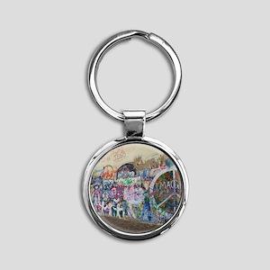 DSC00794 Round Keychain