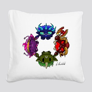 Chaos gods Square Canvas Pillow