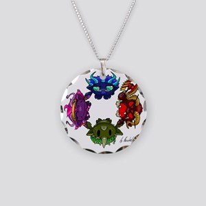 Chaos gods Necklace Circle Charm