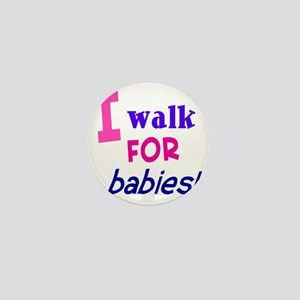walk4babies01 Mini Button
