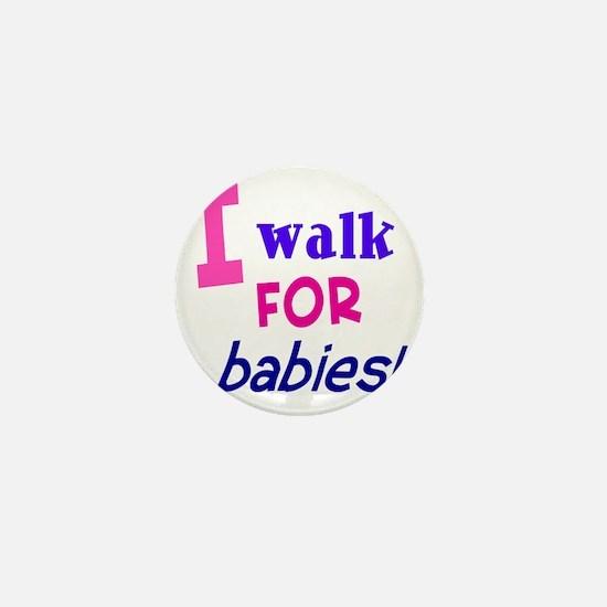 walk4babies01 Mini Button