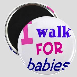 walk4babies01 Magnet