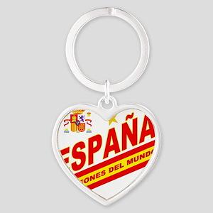 ESPANA champions Heart Keychain