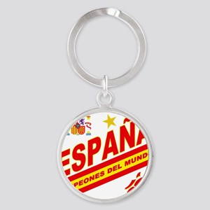 ESPANA champions Round Keychain