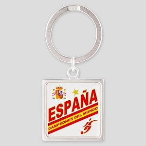 ESPANA champions Square Keychain