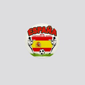 spain champions d Mini Button