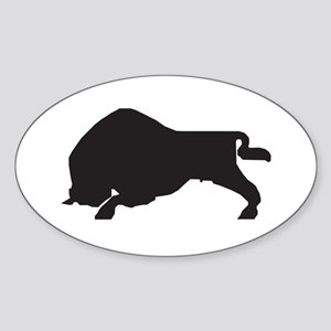 Zubr Oval Sticker