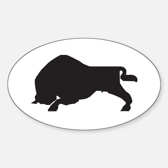 Zubr Oval Decal