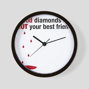 blooddiamonds Wall Clock