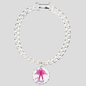 angel mom copy Charm Bracelet, One Charm