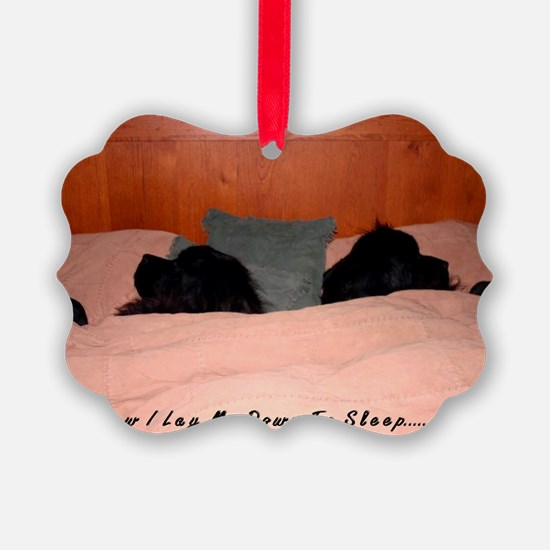 2-Now I lay me down to sleep Ornament