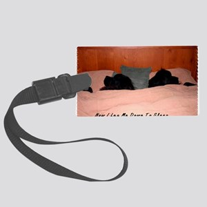 2-Now I lay me down to sleep Large Luggage Tag