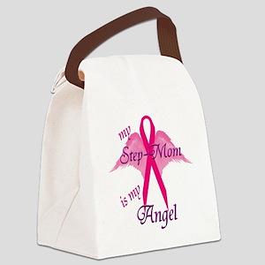 2-angel stepmom Canvas Lunch Bag