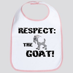 RESPECT the GOAT for Men Bib