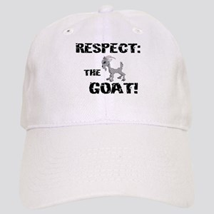 RESPECT the GOAT for Men Cap