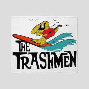 3-trashmen 2 Throw Blanket