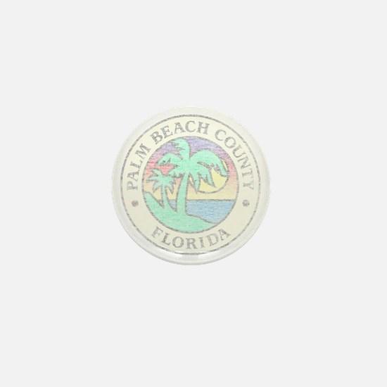 Vintage Palm Beach County Mini Button