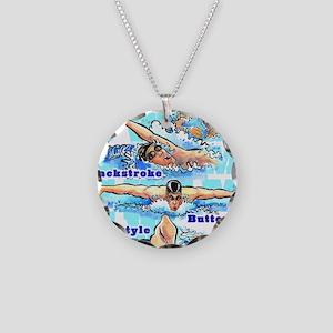 ASwimBoys Necklace Circle Charm