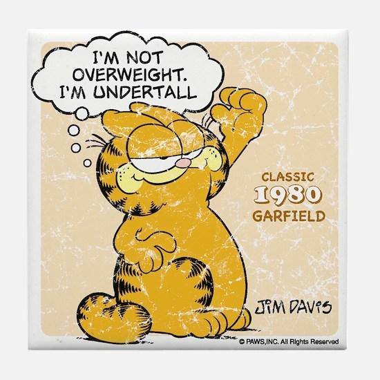 "Garfield ""I'm Undertall"" Tile Coaster"