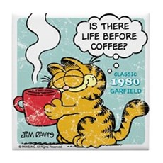 Life Before Coffee? Tile Coaster