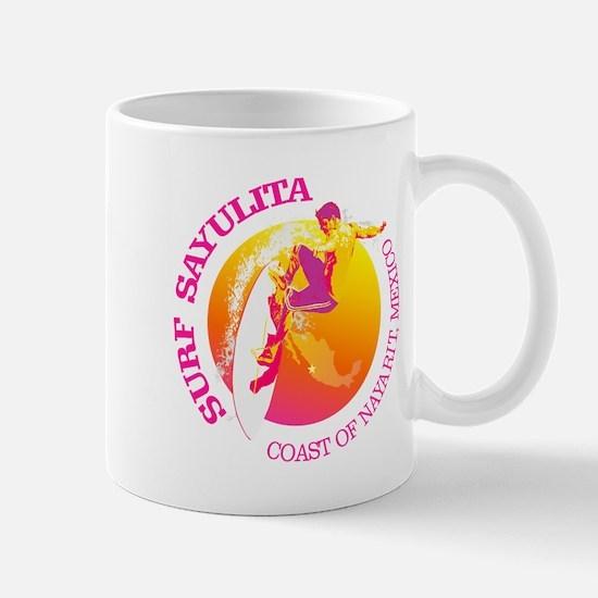 Surf Sayulita Mugs