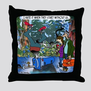 2-8319_pump_cartoon Throw Pillow