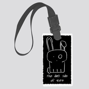STICKER The Dark sside of cute Large Luggage Tag