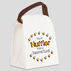 nuttier Canvas Lunch Bag
