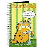 Odie Journals & Spiral Notebooks