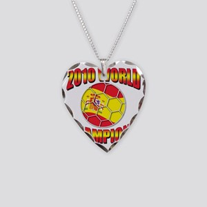 2010 world champions Necklace Heart Charm