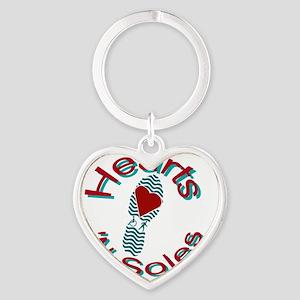 HeartsNSoles_ButtonGenericA Heart Keychain
