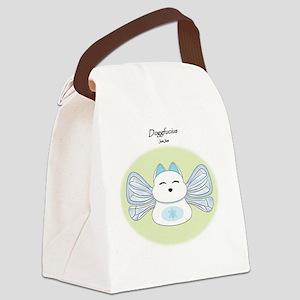 DoggfuciusJumJum Canvas Lunch Bag