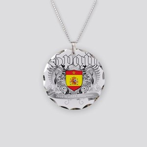 spain champions aaa Necklace Circle Charm