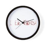 I Eat Babies Wall Clock