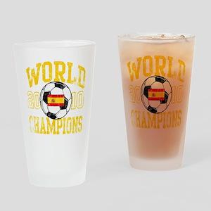 WorldChampions_Spain Drinking Glass