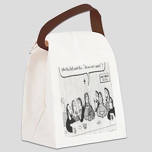 NOT SAINTS Canvas Lunch Bag