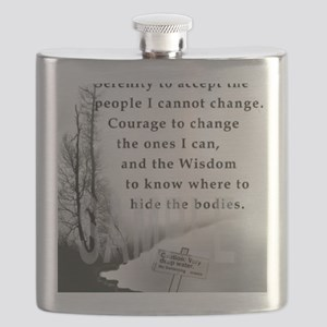 2-TWUSTED SERENITY Flask