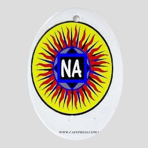 na sun Oval Ornament