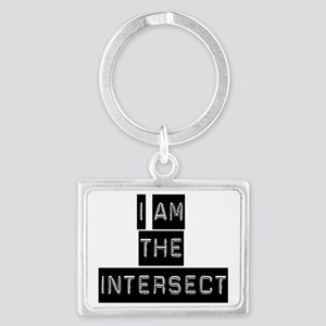 intersect blackblack Landscape Keychain