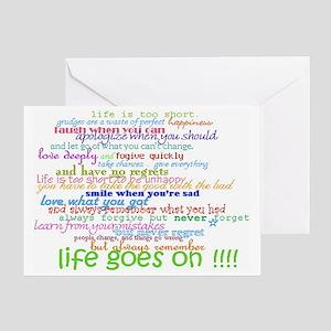 slogans aa na Greeting Card