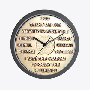 COIN SERENITY Wall Clock