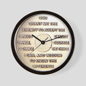 COIN SERENITY Wall Clock