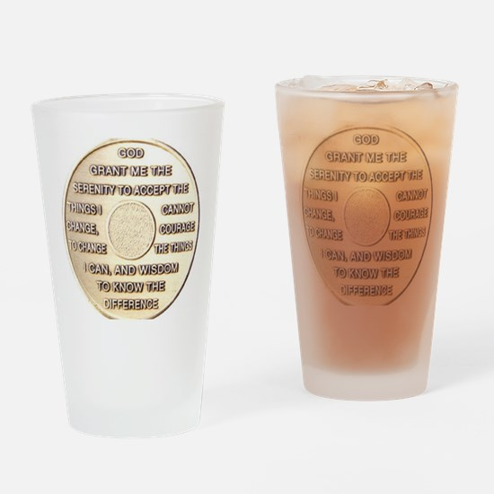 COIN SERENITY Drinking Glass