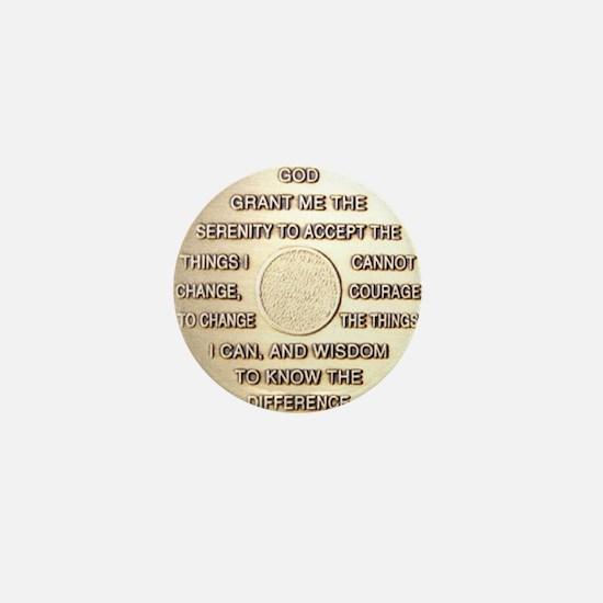 COIN SERENITY Mini Button