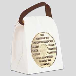 COIN SERENITY Canvas Lunch Bag