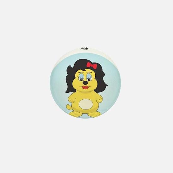 DoggfuciusMama Mini Button