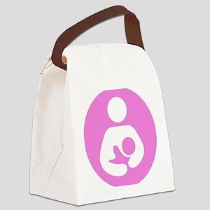 2-roundbfsymbol Canvas Lunch Bag