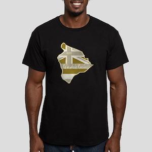 2-08 Men's Fitted T-Shirt (dark)