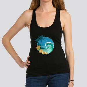 Beach1 Racerback Tank Top