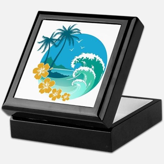Beach1 Keepsake Box